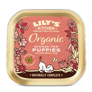 Lily's Kitchen Organic Dinner For Puppies 150 Gr